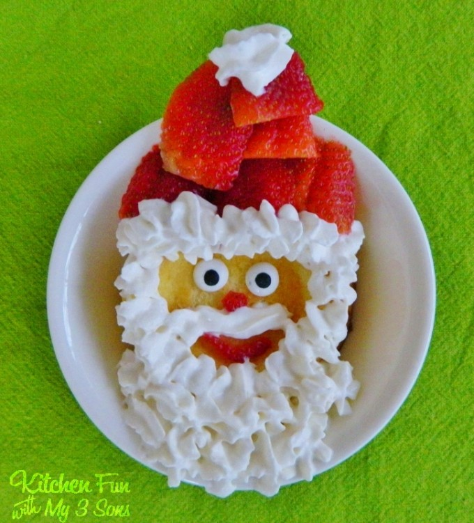 Santa Strawberry Shortcake