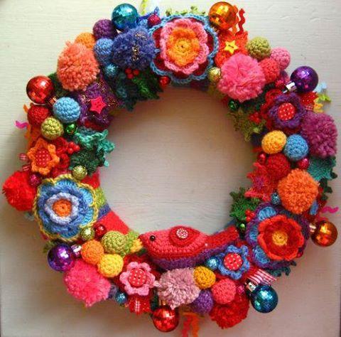 Crochet Christmas Wreath These Are The Best Diy Ideas