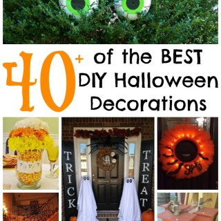 Over 40 of the BEST DIY Halloween Decorations & Craft Ideas!