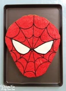 Spider-Man Cookie Cake – Universal Orlando!