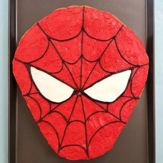 Spider Man Cookie Cake