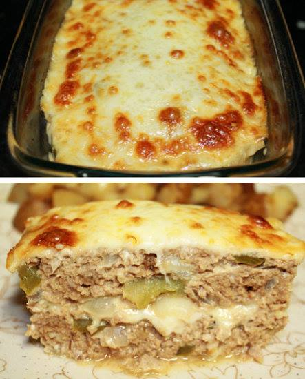 Philly Cheese Meatloaf...these are the BEST Comfort Food Recipes!