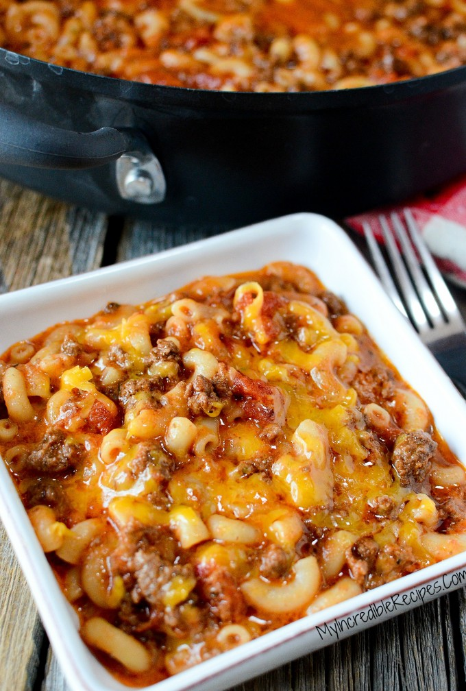 Old Fashioned Goulash...these are the BEST Comfort Food Recipes!