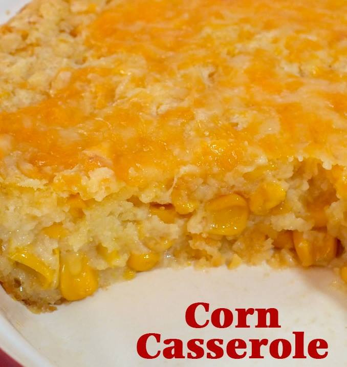 Holiday Corn Casserole...these are the BEST Comfort Food Recipes!