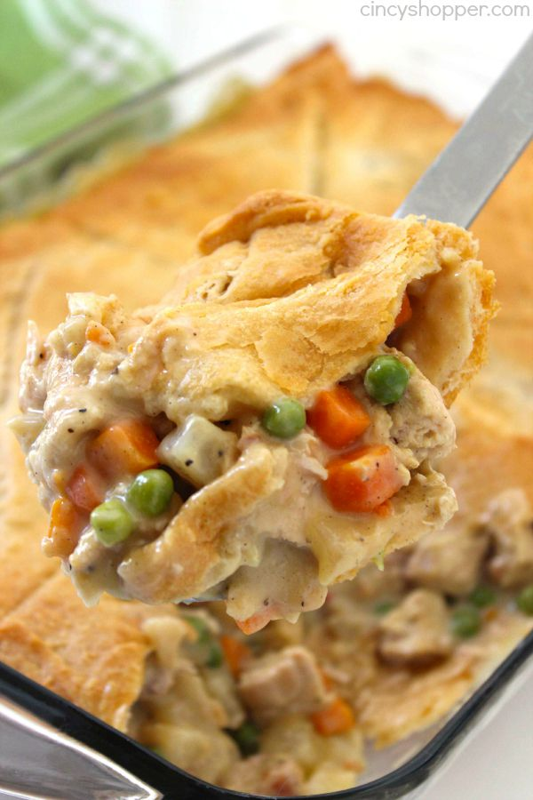 Chicken Pot Pie Casserole....these are the BEST Comfort Food Recipes!