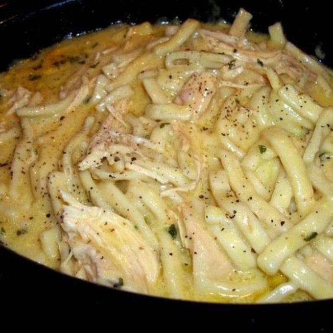 Comforting Chicken and Noodles...these are the BEST Comfort Food Recipes!