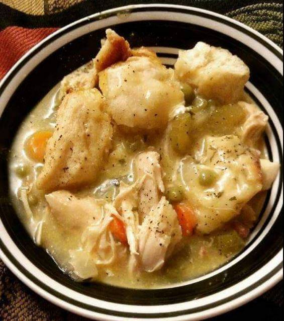 Crock Pot Chicken and Dumplings...these are the BEST Comfort Food Recipes