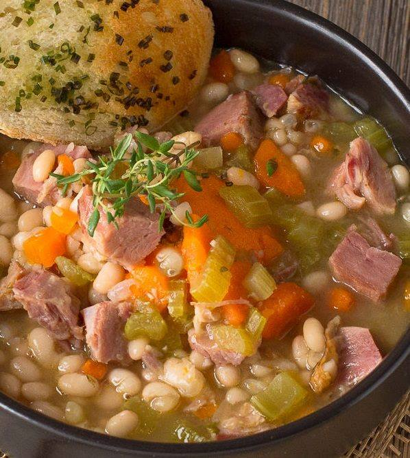 Ham and Bean Soup...these are the BEST Comfort Food Recipes!