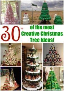 30+ of the most Creative Christmas Trees