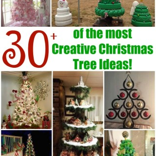 Over 30 of the most Creative Christmas Trees!