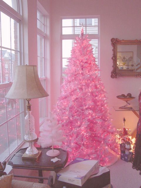 pink christmas treethese are the most creative christmas trees - Pink Christmas Trees