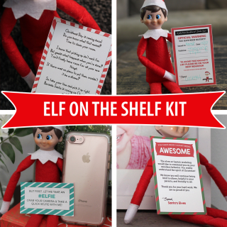 Printable Elf On The Shelf Kit
