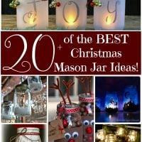 The Best Christmas Mason Jar Ideas