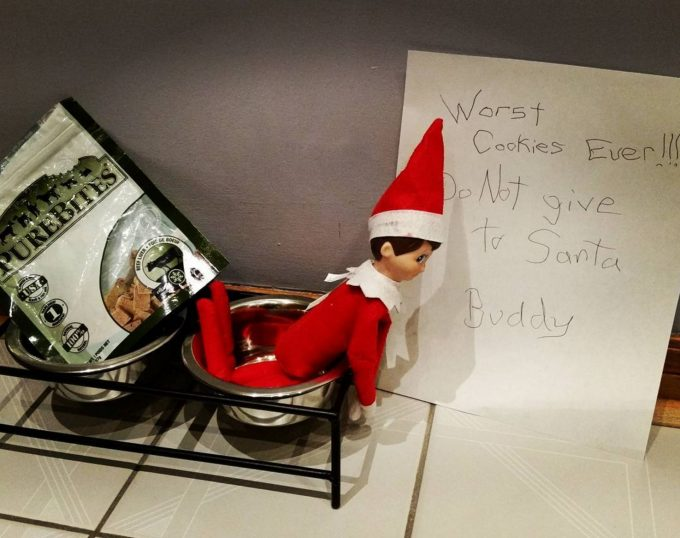 Worst Cookies Ever...these are the BEST Elf on the Shelf ideas for Christmas!