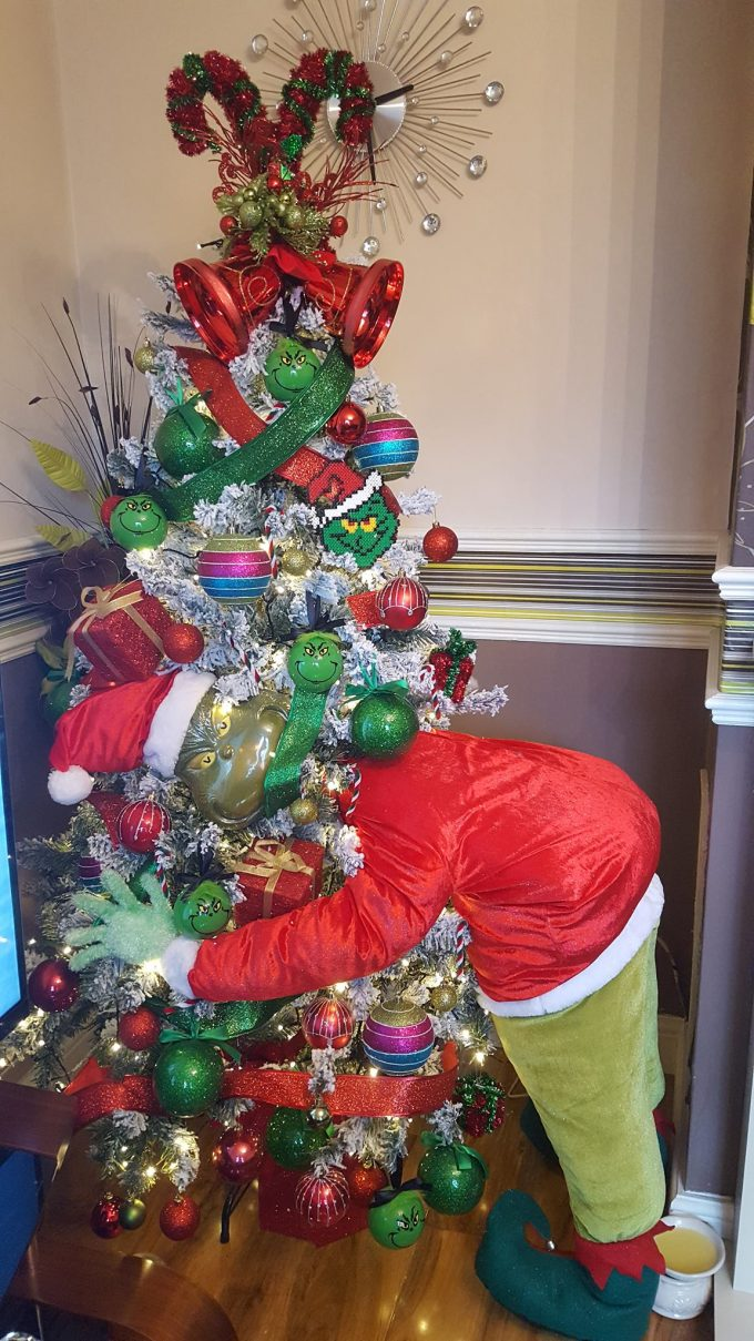 Christmas Decor Grinch : The grinch christmas tree kitchen fun with my sons
