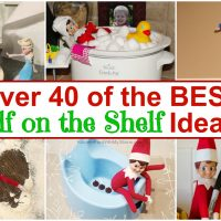 Over 40 of the BEST Elf on the Shelf ideas