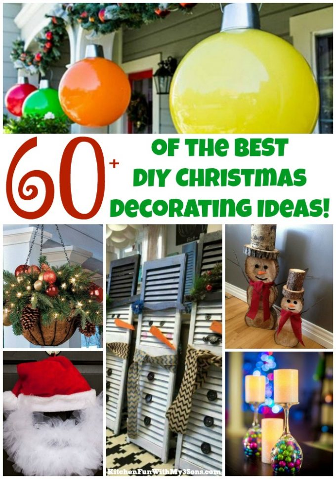 Over 60 of the BEST Christmas Decorating Ideas!