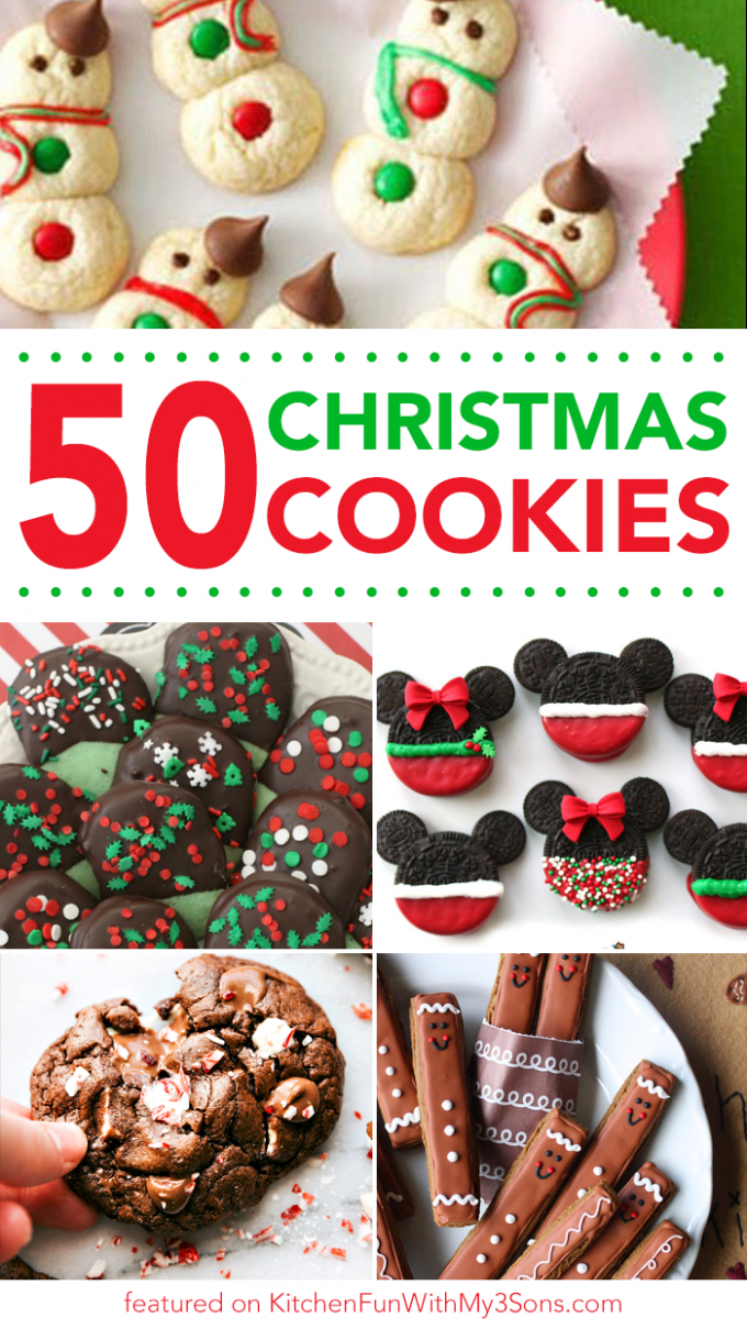 50 Of The Best Christmas Cookie Recipes Kitchen Fun