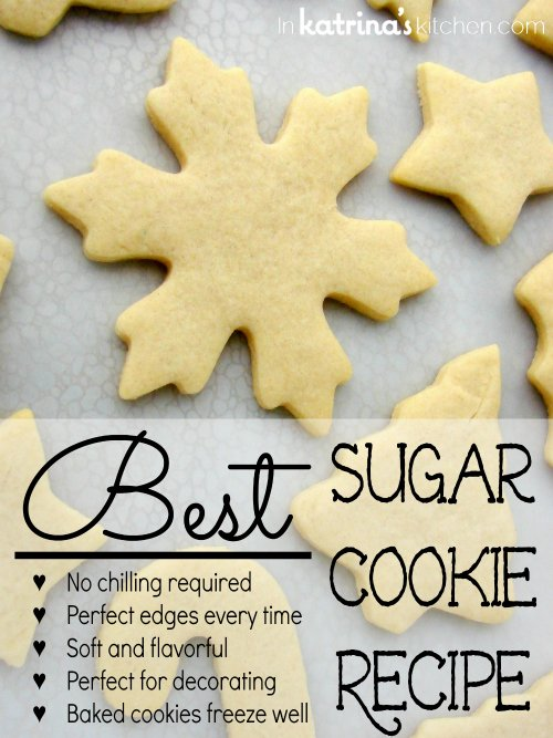 50+ Christmas Cookie Recipes - Page 2 of 2 - The Cards We Drew |Soft Cut Out Sugar Cookie Recipe