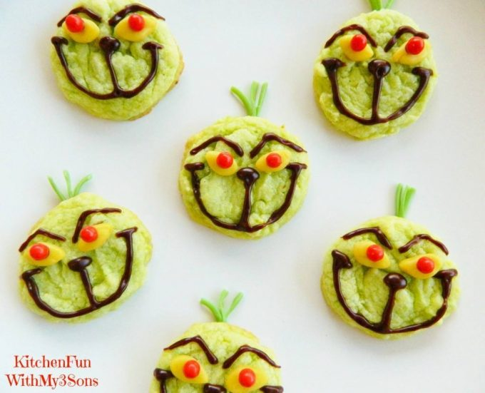 easy grinch cookiesthese are the best christmas cookie recipes - Easy Christmas Cookie Recipes