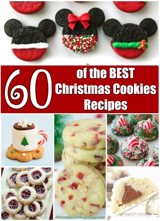 Over 60 of the BEST Christmas Cookie Recipes