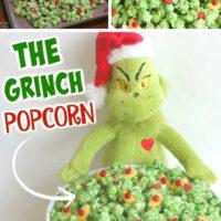 Grinch Popcorn Collage