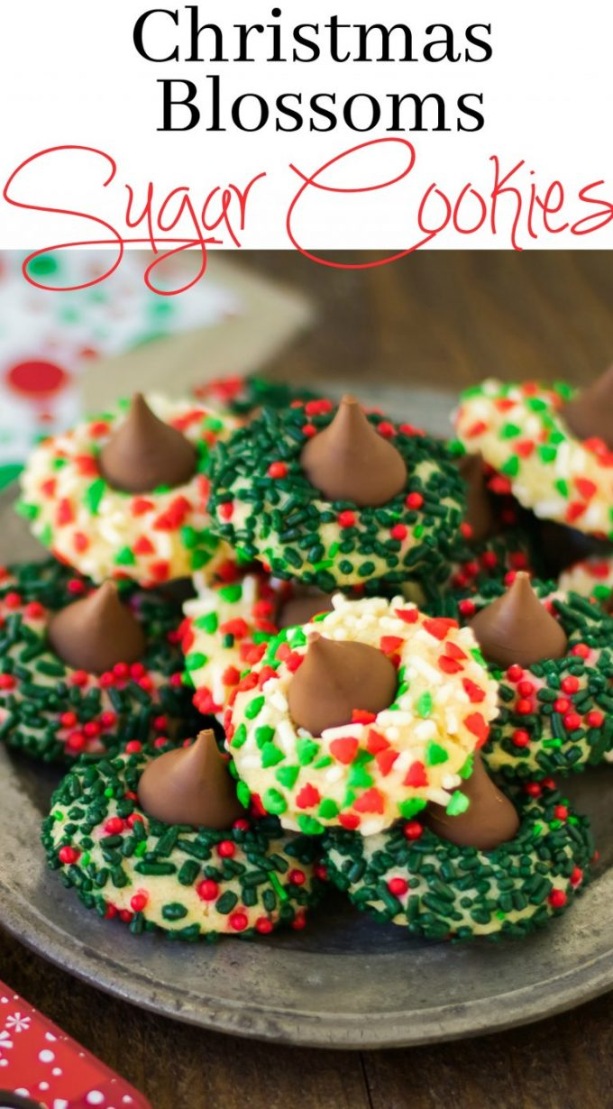 Christmas Cookie Blossoms...these are the BEST Christmas Cookie Recipes!