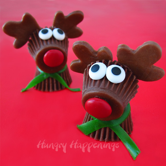 Reese's Reindeer Treats...these are the BEST Christmas Treat Ideas!