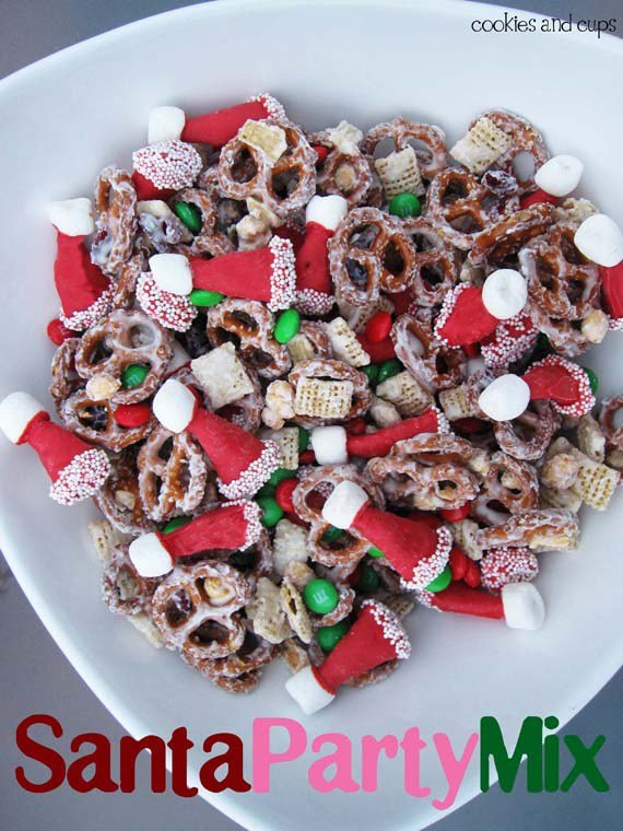 Santa Party Chex Mixthese Are The BEST Christmas Treats