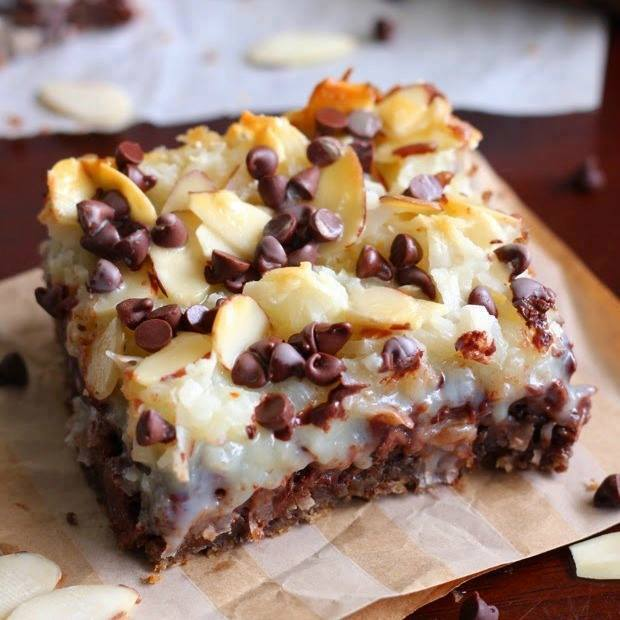 Almond Joy Magic Cookie Bars...these are the BEST Christmas Treats!