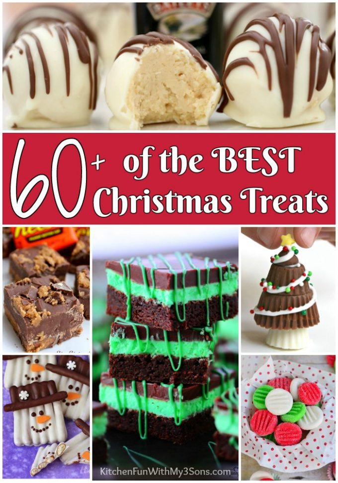 Over 60 of the BEST Christmas Treats!
