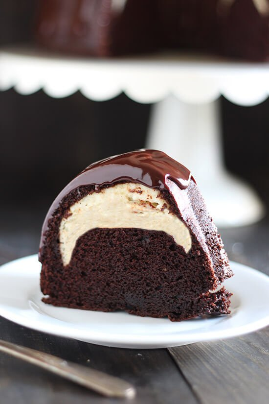 Cheesecake Filled Chocolate Bundt Cake...these are the BEST Cake Recipes!