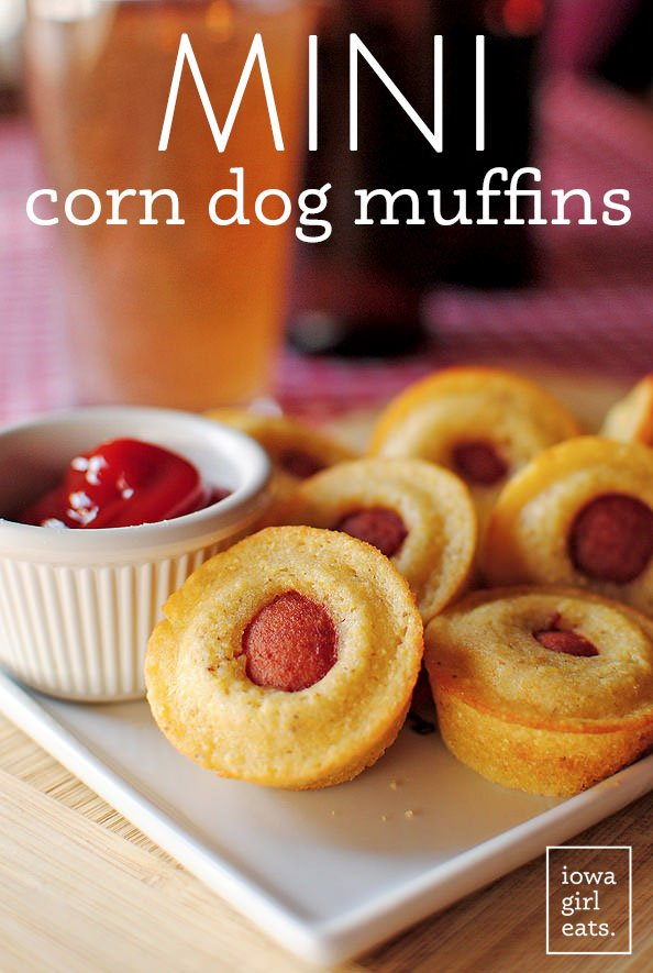 Mini Corn Dog Muffins - these are the BEST Muffin Tin Recipes for Kids!