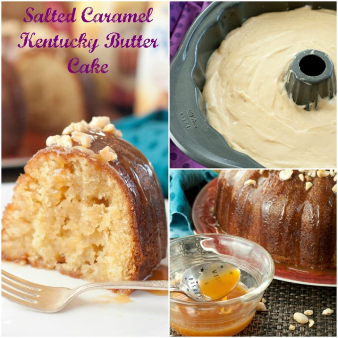Salted Caramel Kentucky Butter Cake...these are the BEST Cake Recipes!
