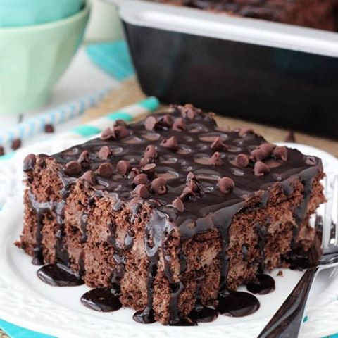 Death By Chocolate Icebox Cake...these are the BEST Cake Recipes!