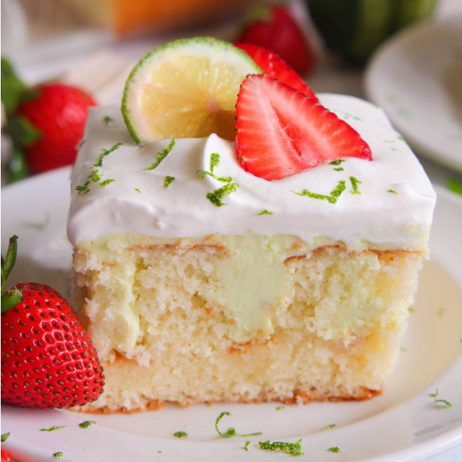 Key Lime Poke Cake...these are the BEST Cake Recipes!