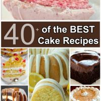 Over 40 of the BEST Cake Recipes!