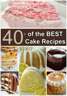 40+ of the BEST Cake Recipes