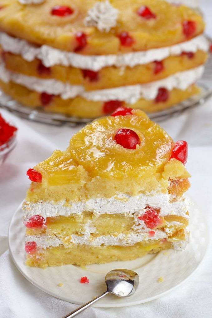 Upside Down Pineapple Cake...these are the BEST Cake Recipes!