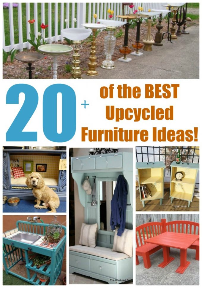 Over 20 of the BEST Upcycled Ideas