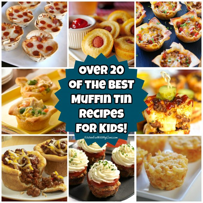 Over 20 of the BEST Muffin Tin Recipes for Kids!