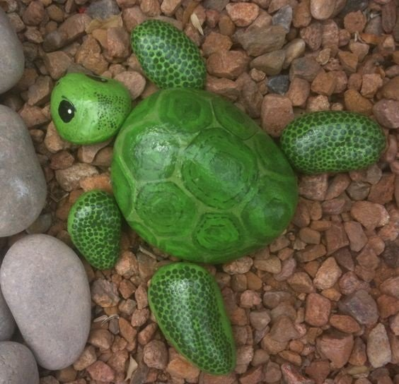 Painted Turtle Rocks...these are the BEST Rock Painting Ideas!