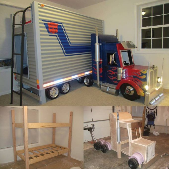 Tractor Bunk Bed (Tractor Trailer)