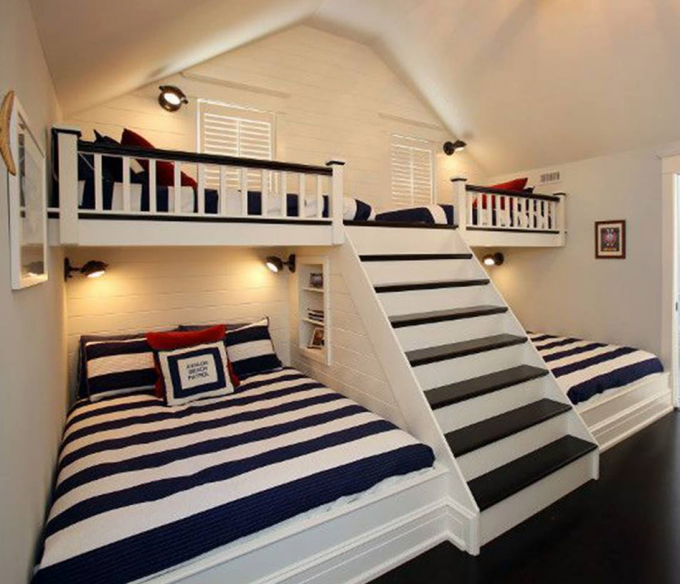 Good Wall Bunk Beds with Stairs these are the BEST Bunk Bed Ideas