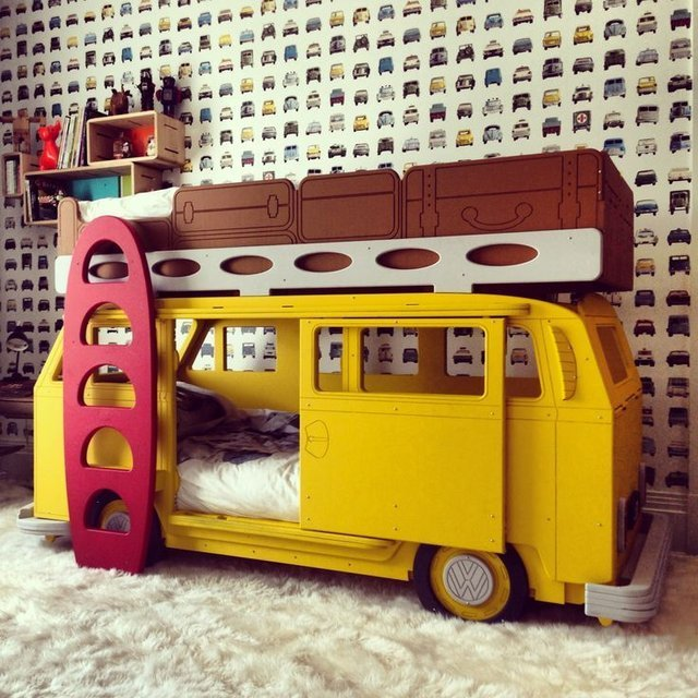 Camper Van Bunk Beds...these are the BEST Bunk Bed Ideas!