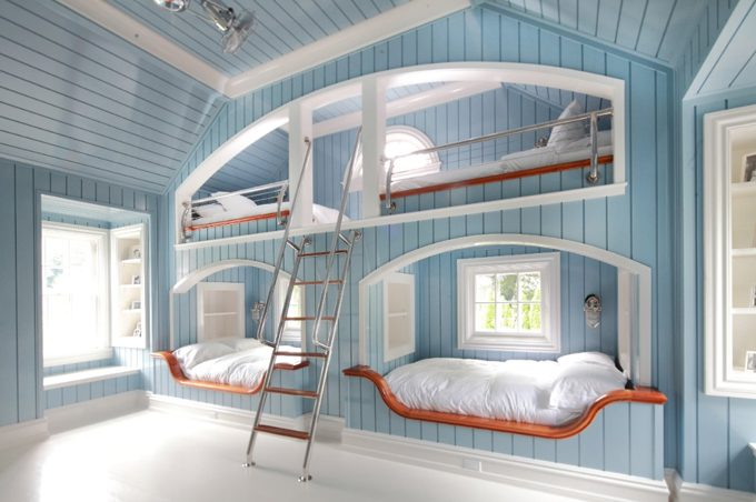 Vintage DIY Bunk Bed Ideas