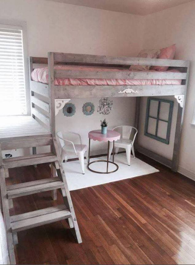 Loft Bed Ideas Part - 15: DIY Loft Bed...these Are The BEST Bunk Bed Ideas!