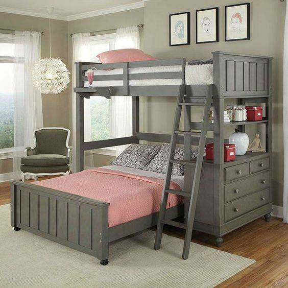 Bunk Bed Ideas Part - 31: Twin Loft Bed...these Are The BEST Bunk Bed Ideas!