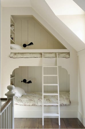 Under the Eve Bunkbeds...these are the BEST Bunk Bed Ideas!