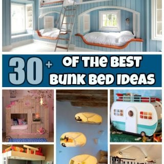 Over 30 of the BEST Bunk Bed Ideas!